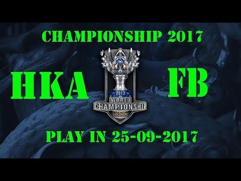 Highlight Champion Play in HKA vs FB [CKTG 25-09-2017]
