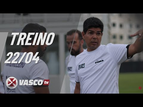 Marcos Valadares comanda treino no CT do Almirante | 22.4 | Vasco TV thumbnail