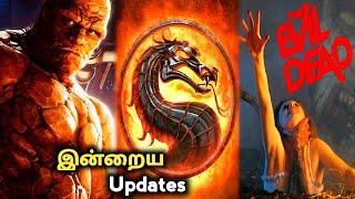 Today Top 5 Updates   Evil Dead   Mortal Kombat   Rip Torn in Tamil