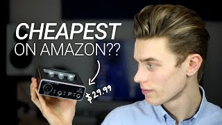 Testing The Cheapest Audio Interface on Amazon
