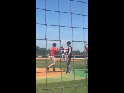 Texas High vs. Whitehouse Baseball Umpire
