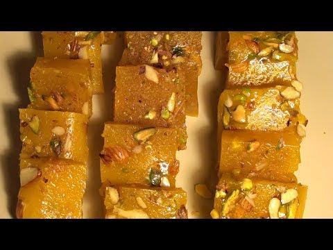 Karachi Halwa / Bombay Karachi Halwa / Corn Flour Halwa Recipe * FARAH'S COOKING CHANNEL*