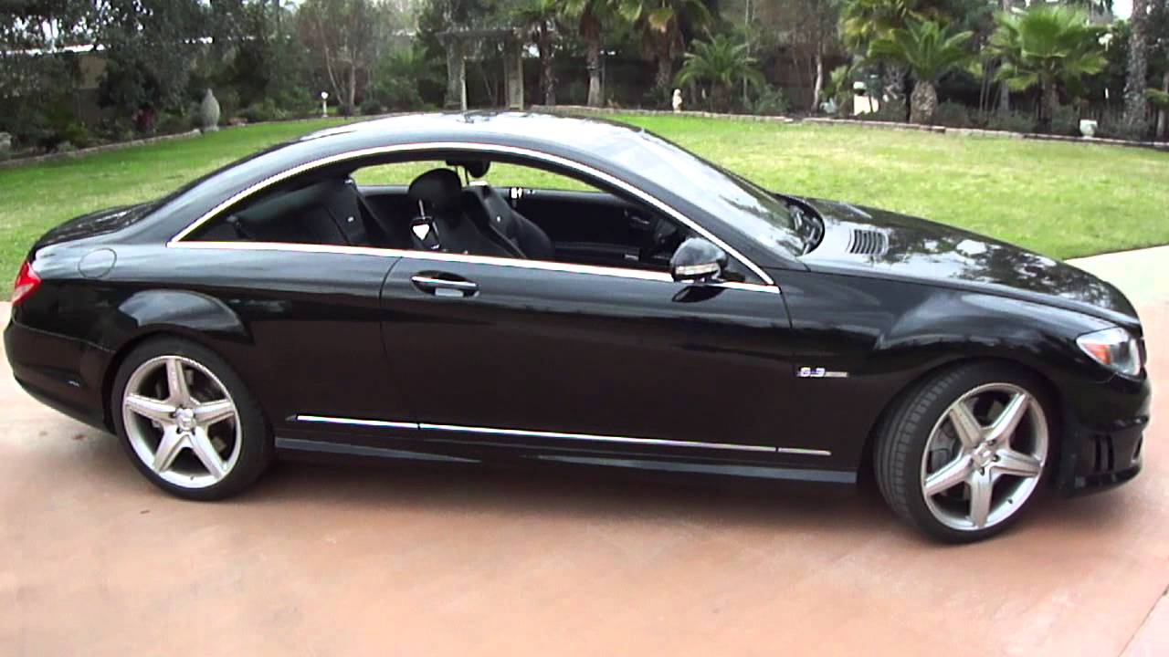 2008 mercedes benz cl63 amg youtube