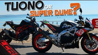 THE KTM Super Duke / Aprilia Tuono Comparison | Which Should You Buy?