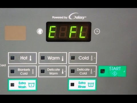 E_FL Errors with Huebsch Galaxy & Speed Queen Quantum Commercial Washers - HK Laundry