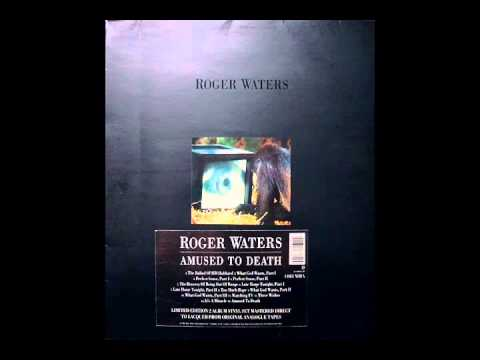 ROGER WATERS - AMUSED TO DEATH ( Original 1992 Limited Edition Vinyl)