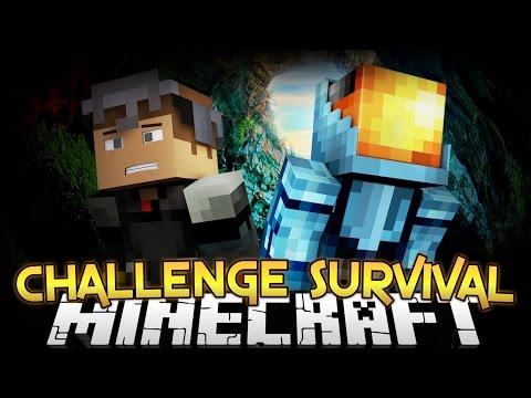 CHALLENGE SURVIVAL Part 1 Minecraft Diversity 2 Survival