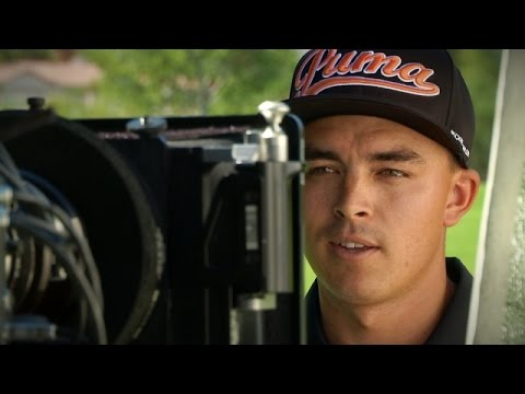 Lights, camera, Rickie!