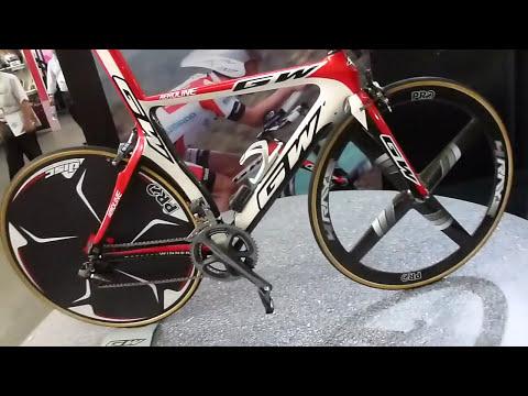 Bicicleta Profesional GW contrarreloj GW Aeroline Dura-ace Di2 electronico PRO Disco Missile