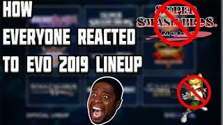 How EVERYONE reacted to EVO 2019 Line up!
