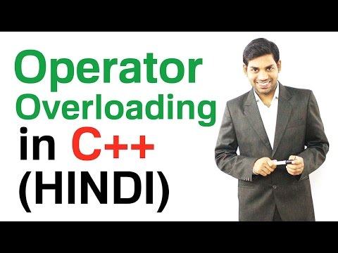 Operator Overloading in C++ (HINDI)