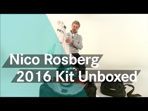 Unboxing F1: Nico Rosberg's new 2016 racing kit