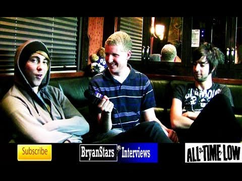 All Time Low Interview Alex Gaskarth &amp; Jack Barakat UNCUT 2010