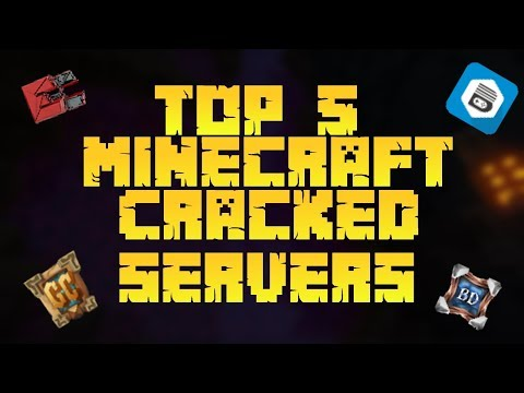 Top 5 Best Minecraft Cracked Servers | 2018
