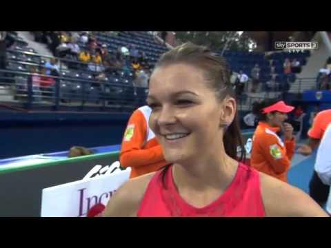 Agnieszka Radwanska Interview HD IPTL Dubai 2015