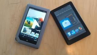 Battle Vid_ Kindle Fire vs. Nook Tablet