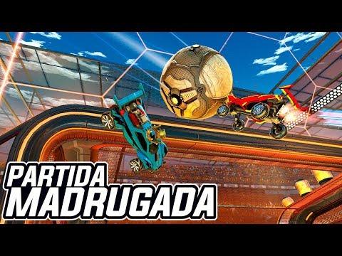 AQUELE BRASIL VS ALEMANHA DE MADRUGADA DE LEVES! RANKEADAS - Rocket League