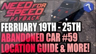 Need For Speed Payback Abandoned Cars #59 - Location Guide + Gameplay - La Catrina NISSAN FAIRLADY!