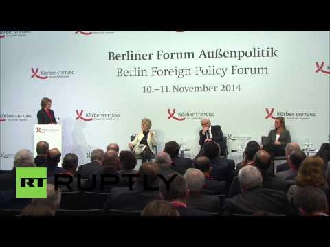 Germany: 'EU working on political solution to Ukraine' - Federica Mogherini