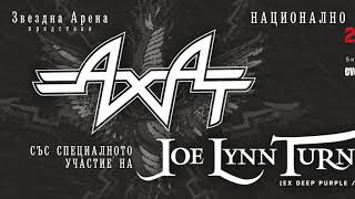 AHAT 2017 TOUR ft. JOE LYNN TURNER