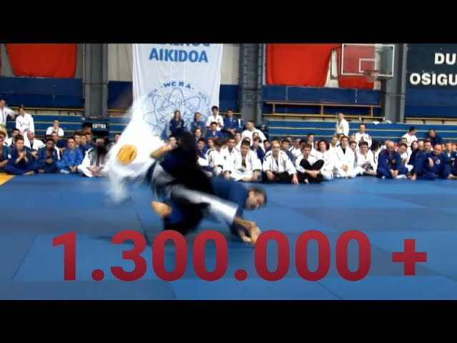 "REAL AIKIDO ""Demonstration in Belgrade"" (ONE OF THE BEST) - Fariz Abdullayev ***"