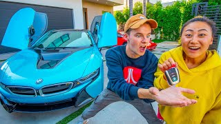 SHE BOUGHT ME A NEW CAR!! W/ Lizzy Capri