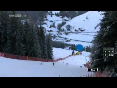 Ted Ligety first run GS Alta Badia 2012