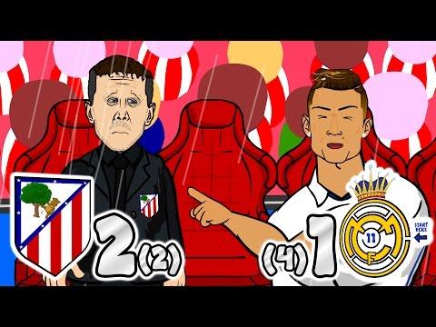 ATLETI OUT! Atletico Madrid vs Real Madrid (Parody 2-1 Semi-Final Champions League Goals Highlights) thumbnail