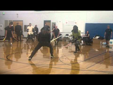 PNWHEMAG 2012 Longsword - Roberto Martinez Loyo vs Jason Brown