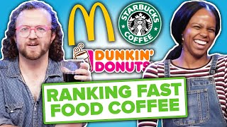 Baristas Rank Fast Food Coffee