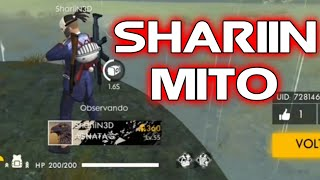 AS INCRIVEIS MITAGENS DO FREE FIRE BATTLEGROUNDS #MESTRE PRO PLAYER #3 - SHARIIN3D THE BEST HEROICO