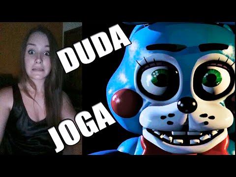 DUDA Jogando Five Nights at Freddy's