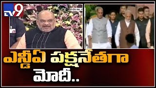 Modi elected NDA parliamentary party leader