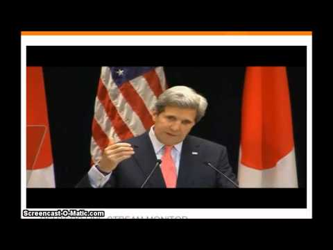 John Kerry United States Secretary of State Speech In Japan Today : China N. Korea