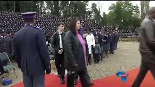 Laaste saluut vir gestorwe polisielede / Dead police officers remembered