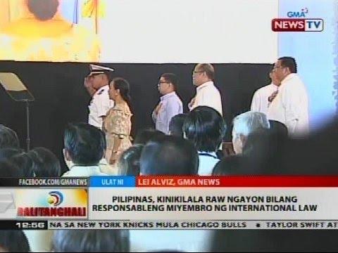 Pangulong Aquino, pinuri ang liderato ni DFA Sec. Albert del Rosario