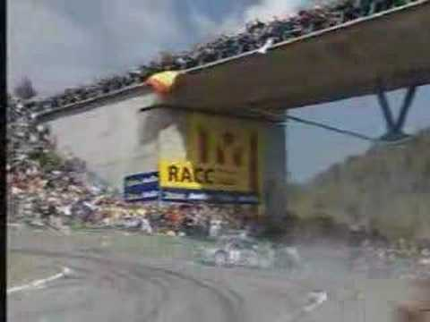 WRC: Gilles Panizzi's 360 at Catalunya 2002