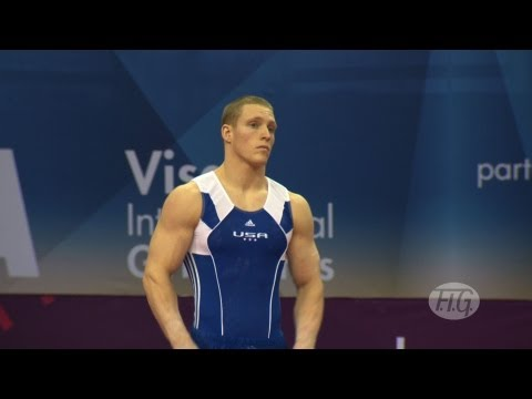 Olympic Qualifications London 2012 -- Steven LEGENDRE (USA) -FX