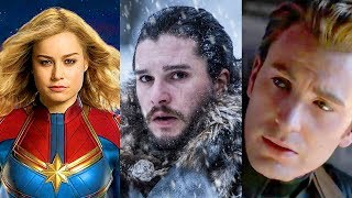 Avengers Endgame! Captain Marvel! Game of Thrones! (2019 Movie & TV Preview!)