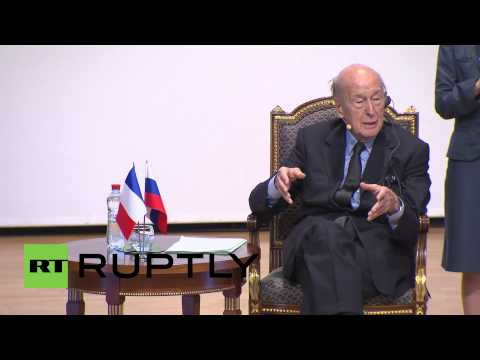 Russia: UN key to solving Ukraine crisis, not a single superpower - Ex-French President