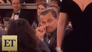 Leonardo DiCaprio's Reaction to Ladya's Golden Globes Win is Absolutely Priceless