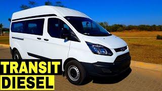 Ford Transit Diesel Camioneta Comercial Van Furgon 9 Pasajeros