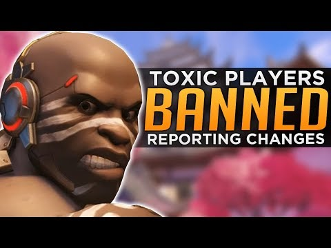 Overwatch: Toxic Players BANNED! - New System & Map CONFIRMED