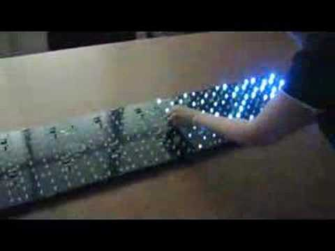 Interactive LED Panels: New version, white LEDs