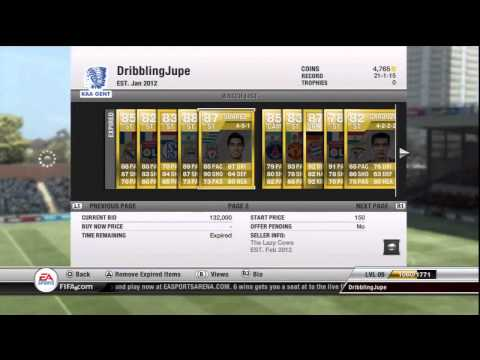 FIFA 12 Ultimate Team | ALL Player Upgrades | (MUST WATCH)