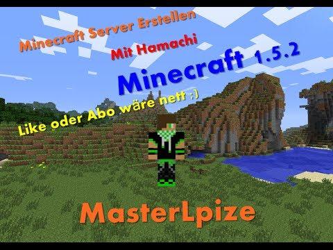 Minecraft 1.5.2 Server Erstellen [Hamachi] [Crack]