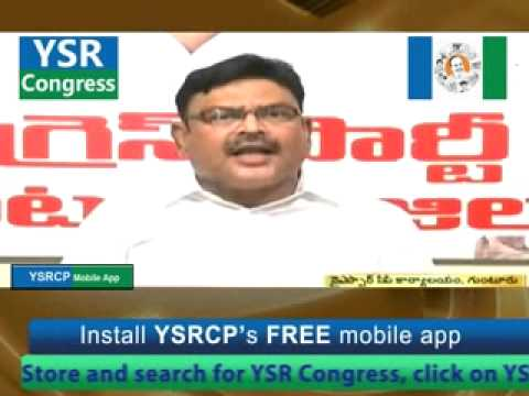 Press meet by Ambati Rambabu -22nd May