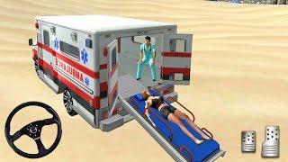 NY City Ambulance Driver Simulator - Coast Guard Beach Rescue - Android Gameplay #3