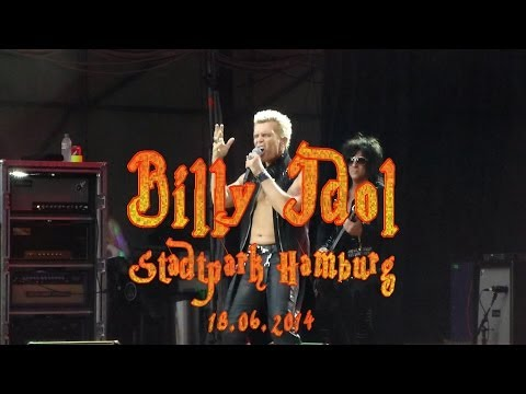 Billy Idol LIVE @ Hamburg 18.06.2014 Full Concert (HD)