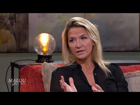 """Kristin Kaspersen: """"Tacksam att jag har ADHD"""" - Malou Efter tio (TV4)"""